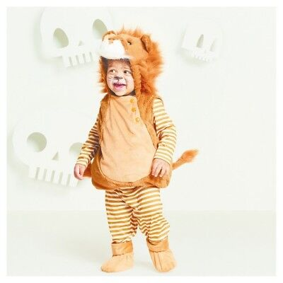 Baby/Toddler Plush Lion Vest Costume Halloween Dress-Up Costume~0-6 Months - Lion Toddler Halloween Costumes