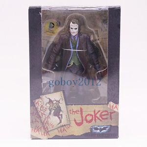 Neca Heath Ledger Batman Dark Knight Comics The Joker DC 7Inch Action Figure New