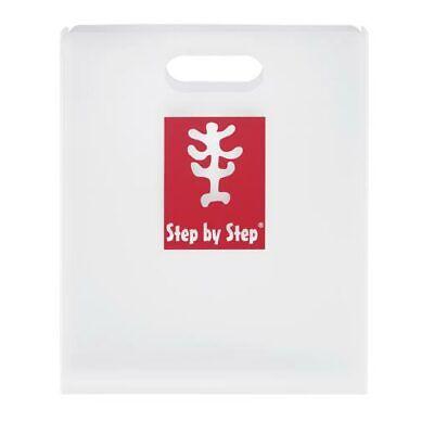 Step by Step Heftbox mit Griff DIN A4 Heftebox transparent