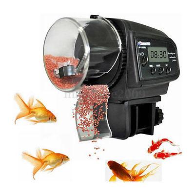 Alimentador Digital Automatico para Peces Acuarios Tortugas Dispensador Comida