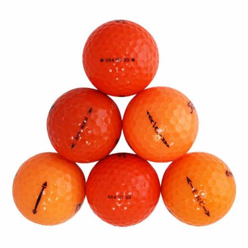 120 Premium Orange Good Quality Used Golf Balls AAA *SALE!*