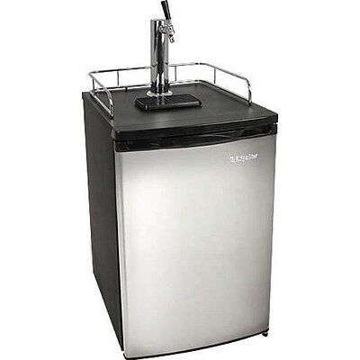 Full Size Stainless Steel Kegerator Fridge Edgestar Draft Beer Keg Refrigerator