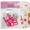 Drinks Cutter Set - 10pc - Champagne, Beer, Wine - Cake Decorating