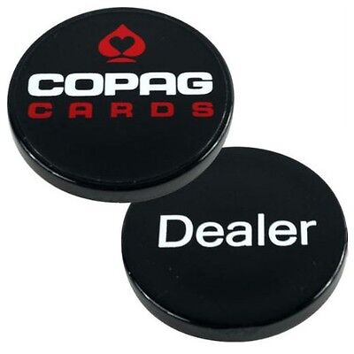 Copag Dealer Button - Black Poker Casino Lammer