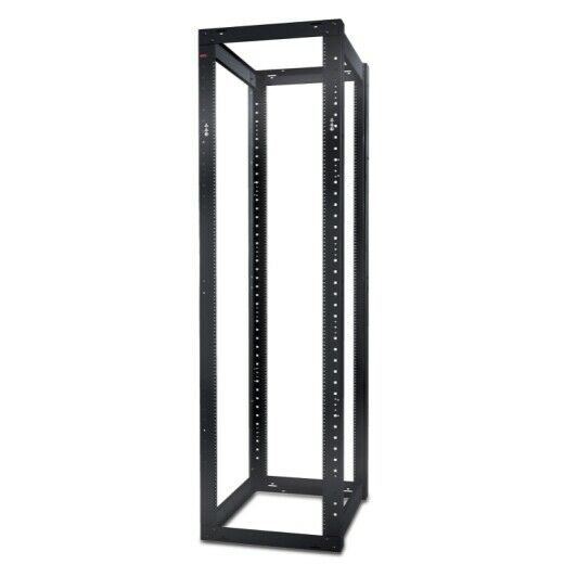 APC NetShelter 4 Post Open Frame Rack 44U 12-24 Holes AR204A Computers/Tablets & Networking