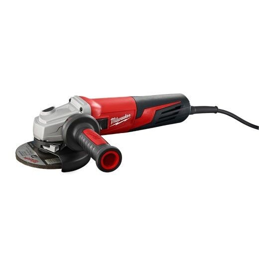 Milwaukee 6117-33D 13 Amp 5 in. Dial Speed, Angle Grinder Slide, Lock-On