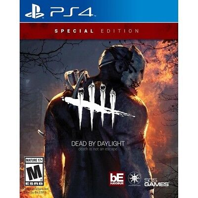 Dead by Daylight (Sony PlayStation 4) NEW FREE SHIPPING