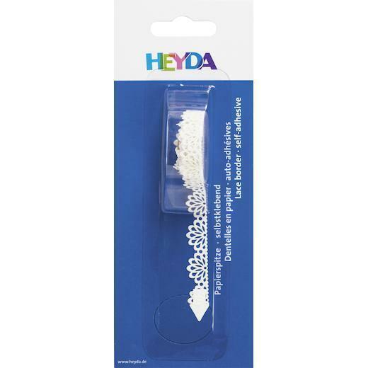 Heyda Paper Lace Self-adhesive Tape 2m