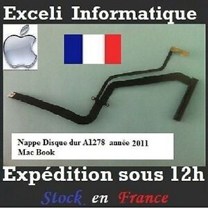 nappe cable disque dur macbook pro 13 quot unibody original apple a1278 2011 verso ebay