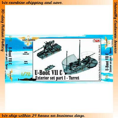 CMK 1/72 German U-Boot VII Exterior Set Part I Turret for Revell 05015