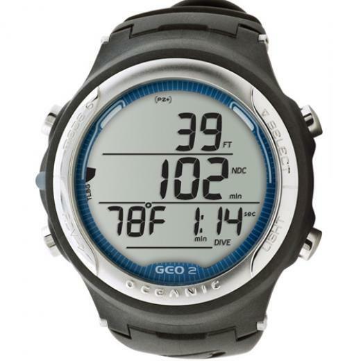 Oceanic Geo 2.0 Wrist Watch Computer-Blue-Includes