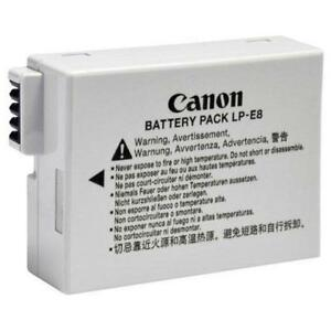 Canon LP-E8 Battery Pack for Canon T5i/T4i/T3i Cameras (New other)