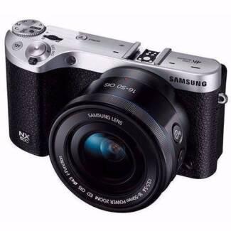 Samsung NX500 28MP 4K Mirrorless Camera + 16-50mm f/3.5-5.6 Lens