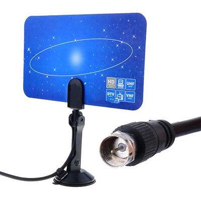Digital Indoor VHF UHF Ultra Thin Flat TV Antenna for HDTV 1080p DTV HD Ready k6 1080p Hd Ready Tv