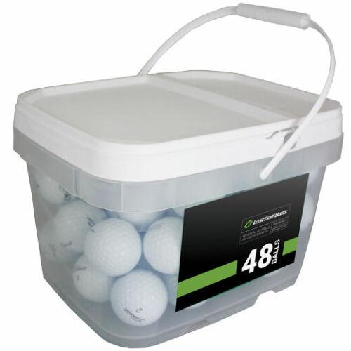 48 Titleist Tour Speed Used Golf Balls AAAAA No Markings or Logos! Free Bucket!