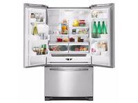 Maytag French Style Fridge Freezer three door style . 5MFI267AA/ Retail price £1900-£2400 .Brand New