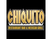 Chiquito Mexican Restautant is looking for experience chefs