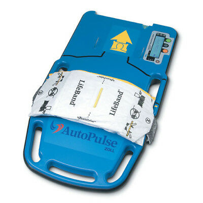 Zoll Autopulse Chest Compression System With Lifeband Battery And Carry Case