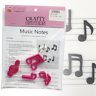 Music Notes Cutter Set - 4pc - Musical Notes - Cake Decorating