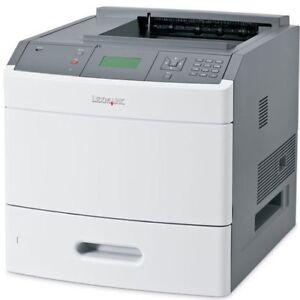 LEXMARK-T652N Lexmark Lexmark t652n Mono Laser Printer used