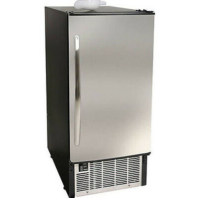 Edgestar Ib450ss Undercounter Ice Maker Built In 45 Lb. Stainless Steel Machine