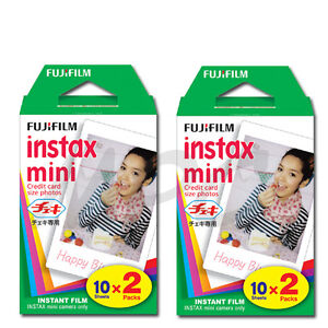 Fujifilm-Instax-Mini-25-50s-7s-8-Instant-Film-Twin-Pack-40-shots-2-Pk-2016