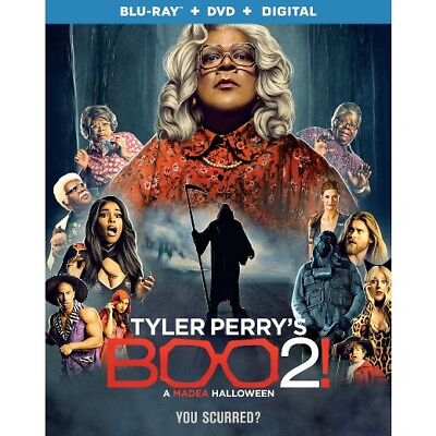 Tyler Perrys Boo 2 Blu Ray Only 2017   Pre Order  Ships 1 30 18  Free Shipping