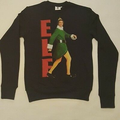 PRIMARK MENS ELF THE MOVIE WILL FERRELL CHRISTMAS JUMPER SWEATER TOP XMAS XL