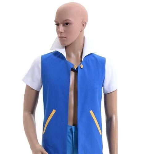 Uk pokemon go ash ketchum shirt jacket trainer cosplay costume uk pokemon go ash ketchum shirt jacket trainer cosplay costume gloves clothing solutioingenieria Image collections
