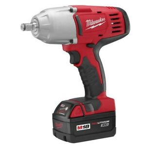 "Milwaukee M18 1/2"" high torque impact wrench"