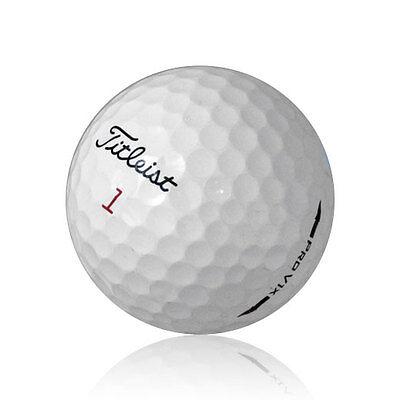 120 Titleist Pro V1X Mix Near Mint Used Golf Balls