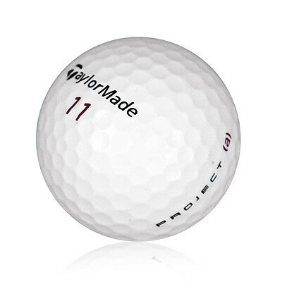120 TaylorMade Project (a) Near Mint Used Golf Balls AAAA *Free Shipping!*