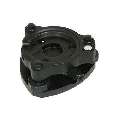 Seco Tribrach Wild High Precision Euro Style Optical Plummet Trimble 2152-06-blk