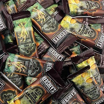 Hershey's Tombstone Milk Chocolate Halloween Candy Snack Size Bars, 0.45 Ounces