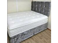 🔥SALLLEE!!! CLEARANCE EVERYTHING MUST GO!!BRAND NEW DIVAN BEDS WITH MATTRESS & FREE DELIVERY🔥