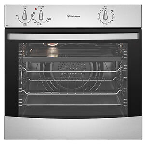 Westinghouse 60cm 80L Fan Forced Electric Wall Oven WVE613S