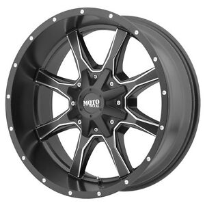 Moto metal M0970 gloss black and milled 20x10