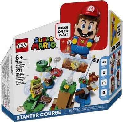LEGO Super Mario Adventures Mario Starter Course 71360 Brand New Sealed