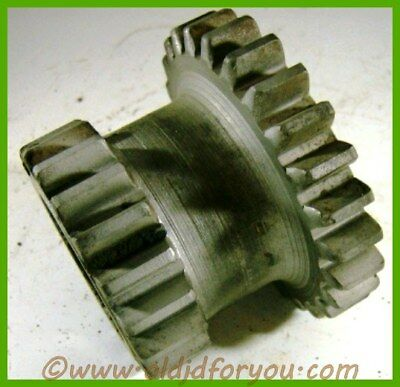 B1862r John Deere B Coutershaft Idler Gear Ab4127r 19 And 25 Teeth Nice