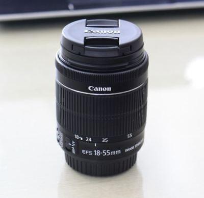 Brand New Canon  EF-S 18-55mm f/3.5-5.6 IS STM Lens (Original Cap) -Bulk Package