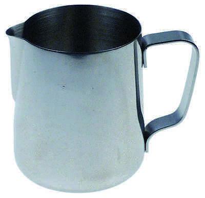 Milchkanne 0,6l Edelstahl | milk jug without lid capacity 0,6l stainless steel