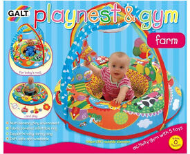 Play Nest, Ring, Inflatable Baby Playmate, FARM GALT - excellent condition