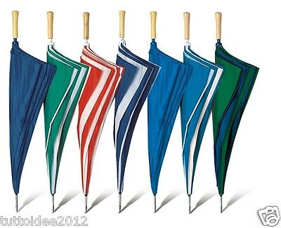 "OMBRELLO grande da pioggia golf maxi 30"" umbrellas qualita' in offerta"