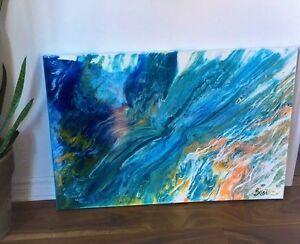 Peinture - Acrylique - fini Epoxy - Artiste québecois