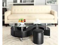 S shape coffee table