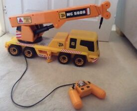 JCB mega crane toy MC 5000 with remote control