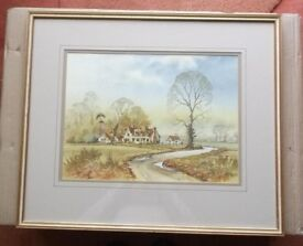 Andrew Findlay 'Country Scene' Watercolour
