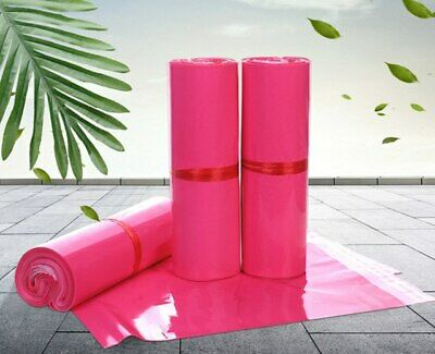 500 7.5x10.5 Pink Poly Mailers Shipping Envelopes Couture Boutique Quality Bags