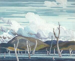"""Limited Edition """" Wabajasik, Drowned Land"""" by F. Carmichael"""