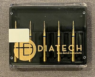 Diatech Dental Gold Diamond Burs Interproximal Asst Sizes You Pick 5 Count